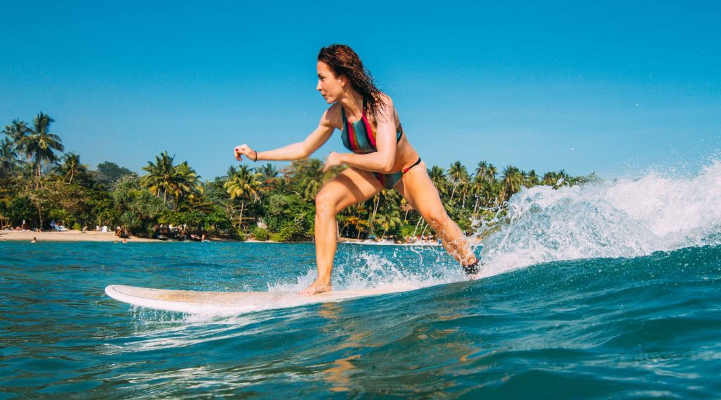 Catch your first waves and start dancing on the water!
