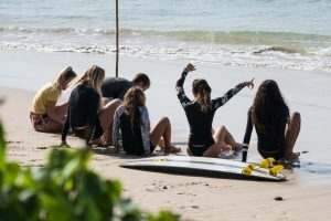 The Surfboard and How to Carry It Right