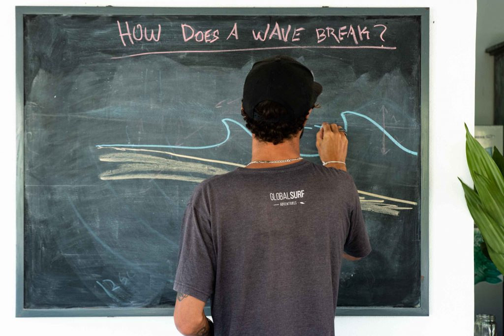 Want to know how to speak the surfers language? Couple of theory lessons and you are there!